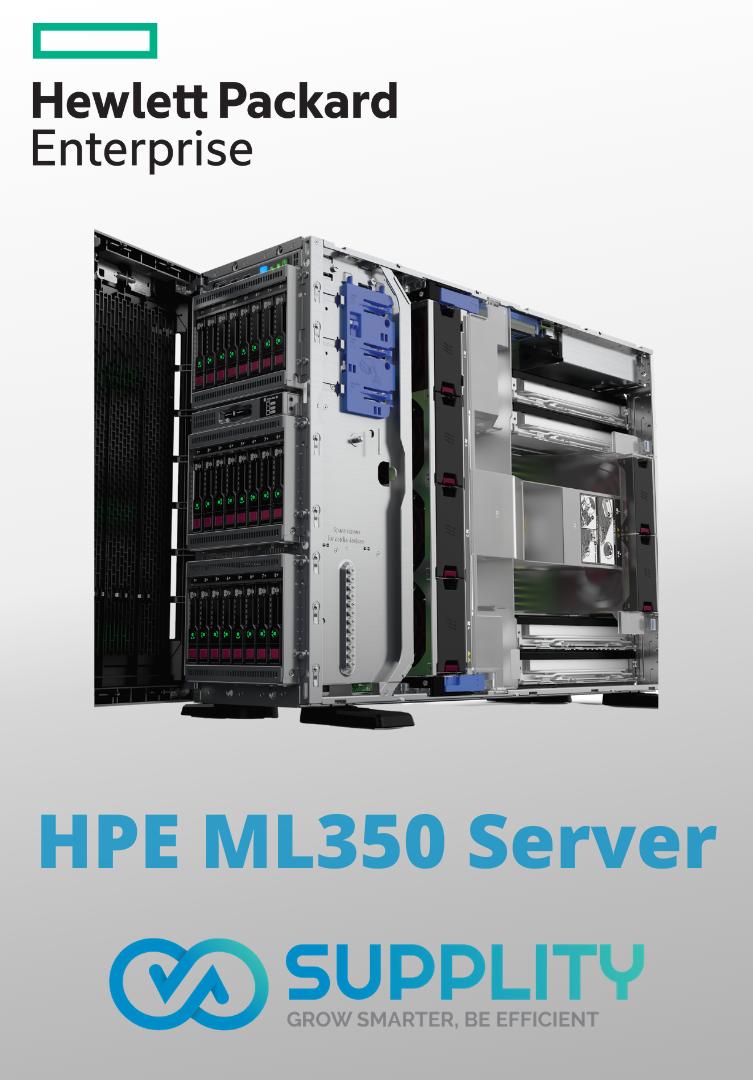 HPE ML350 Gen10 Server