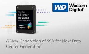 Westren digital for new data centers