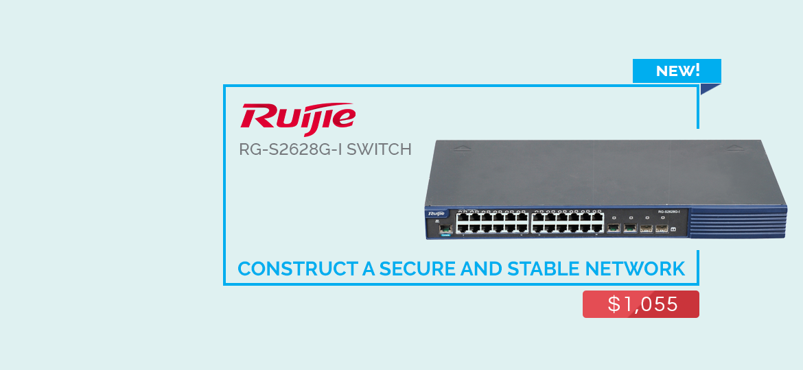 Ruijie rg-s2628g-i switch